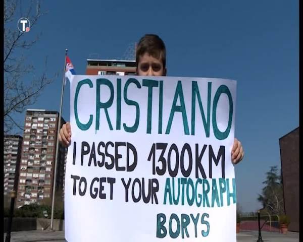 RONALDO JE LJUDINA! Kristijano ipak ispunio san dečaku sa dirljivom porukom, ALI TO NIJE BILO SVE! (VIDEO)