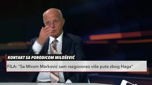 Svedočanstvo Tome File iz noći hapšenja Slobodana Miloševića