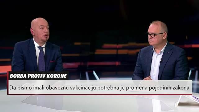 Doktor Zoran Bekić u Usijanju dana: Uveo bih obaveznu vakcinaciju