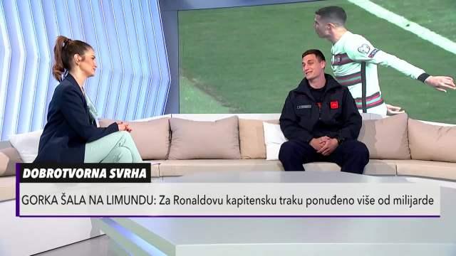Vatrogasac Đorđe koji je uzeo Ronaldovu traku