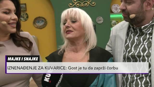 Ekipa emisije Majke i Snajke ugostila Veru Matović
