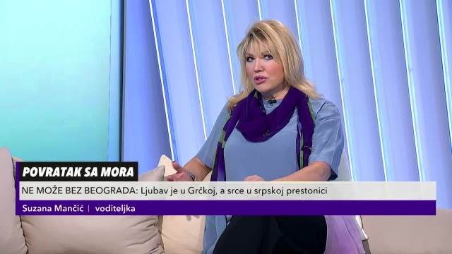 Suzana Mančić se prisetila poslednjeg susreta sa Sanjom Ilićem