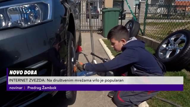 Dečak iz Obrenovca je najmlađi automehaničar u Srbiji