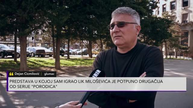 Dejan Cicmilović ulogu generala Bojovića spremao preko Gugla