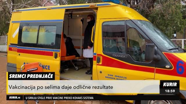 Sremska Mitrovica: Vakcinacija po selima daje odlične rezultate