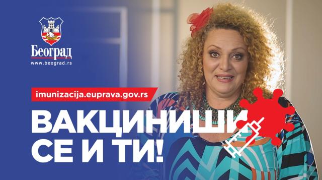 POBEDIMO KORONU! Grad Beograd i Sandra Bugarski pozivaju sve da se VAKCINIŠU