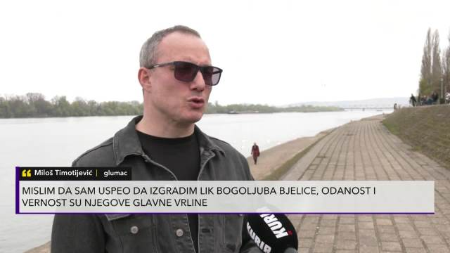 Miloš Timotijević o ulozi u Porodici