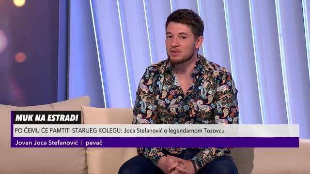 Joca Stefanović o legendarnom Tozovcu