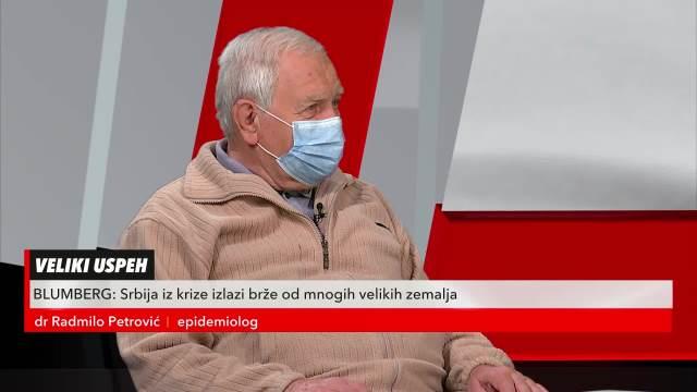Doktor Radmilo Petrović u Redakciji o trenutnoj epidemiološkoj situaciji