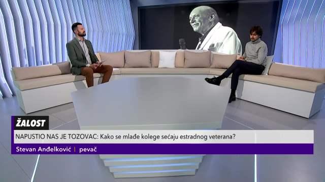 Stevan Anđelković o Tozovcu