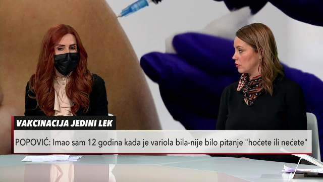 Dr Ivana Petrović Institut za kardiovaskularne bolesti Dedinje: Važno za sve - vakcina štiti od steriliteta (KURIR TELEVIZIJA)
