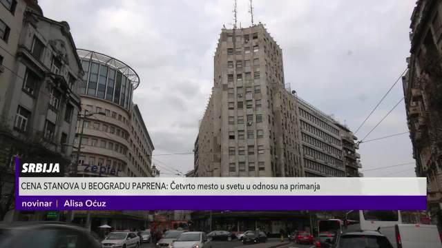 Beograd je četvrti najskuplji grad u Evropi po ceni stanova