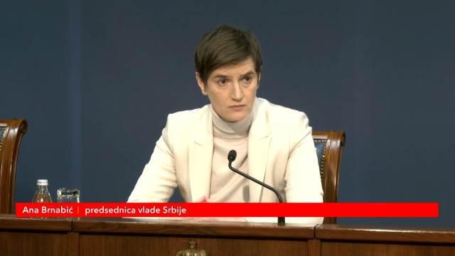 Premijerka Brnabić o procedurama za izmenu Ustava Srbije