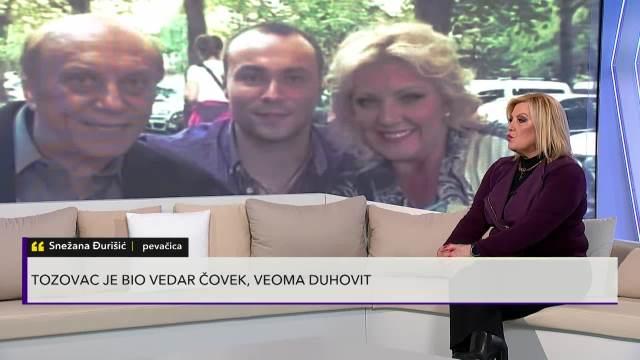 Snežana Đurišić o Predragu Živkoviću Tozovcu