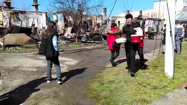 Požar ostavio 10 porodica iz Niša bez krova nad glavom