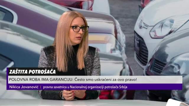 Nikica Jovanović u Pulsu Srbije o garanciji na polovnu robu