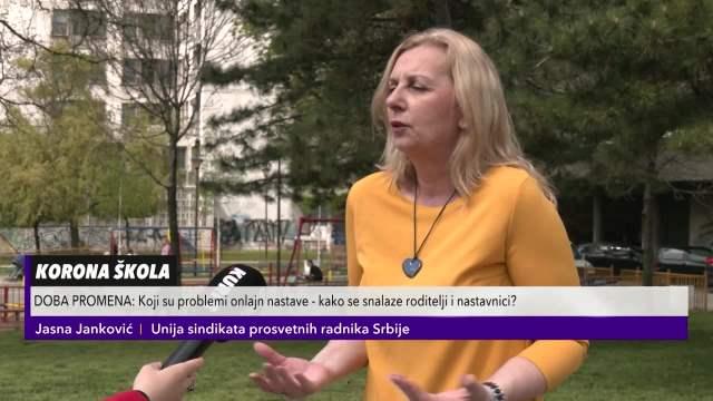 Jasna Janković: Koji su problemi onlajn nastave
