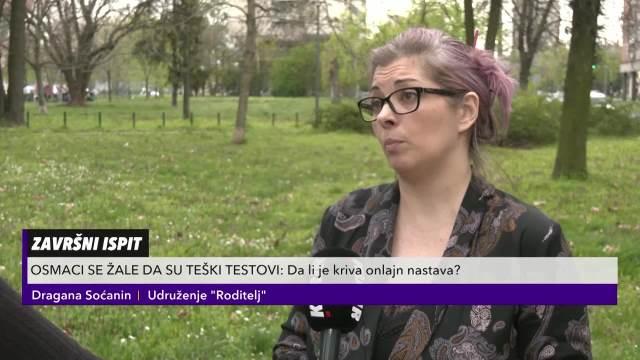 Dragana Soćanin iz udruženja Roditelj o problemu online nastave