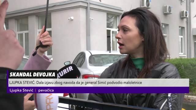 STEVIĆKA PONOVO U POLICIJI: Ljupku saslušavali zbog izjave da je Simke PODVODIO maloletnice!