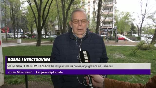 ZORAN MILIVOJEVIĆ, KARIJERNI DIPLOMATA ZA KURIR: Pomeranje granica u BiH bi otvorilo PANDORINU KUTIJU! Posledice NESAGLEDIVE!