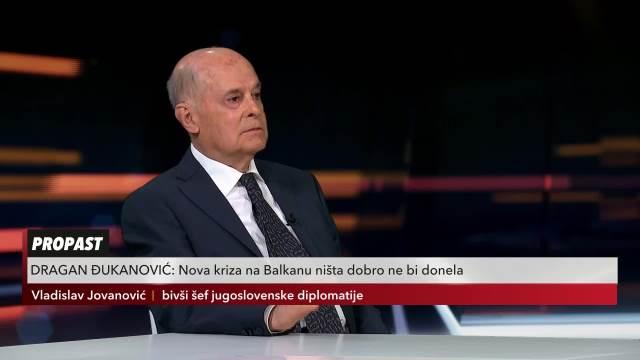 DIPLOMATA JOVANOVIĆ U USIJANJU DANA: Otkud baš Slovenija da menja granice