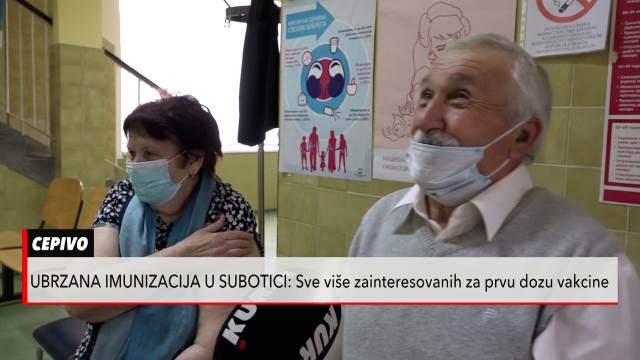 Ubrzana masovna vakcinacija u Subotici