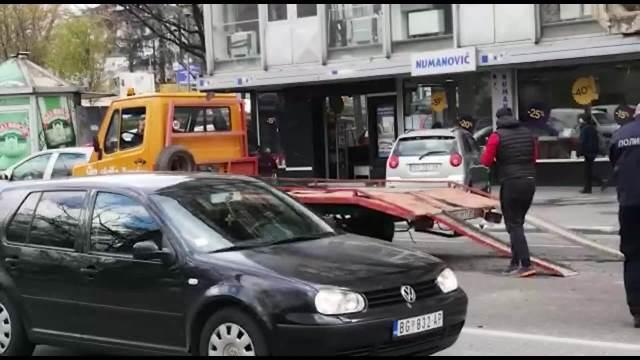 PRVI SNIMCI SAOBRAĆAJKE U BULEVARU DESPOTA STEFANA, HAOS KOD PANČEVCA Kolaps u saobraćaju u centru Beograda! Gužva i na Autokomandi
