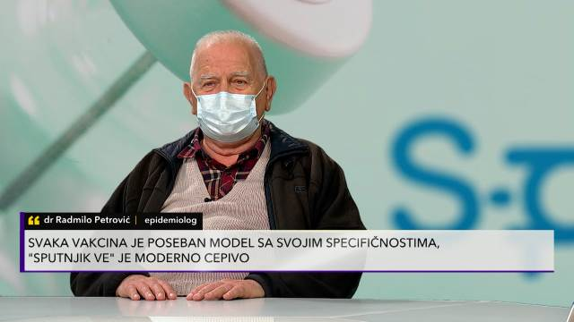 Epidemiolog Petrović objasnio proces proizvodnje vakcine Sputnjik V