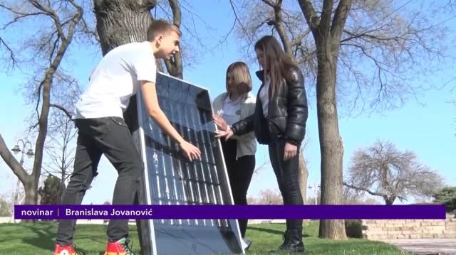 Niški đaci proizveli solarni panel napravljen od iskorišćenih limenki