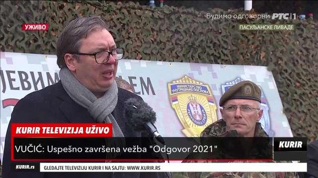 Vučić prokomentarisao mapu koja predviđa promenu granica na Zapadnom Balkanu