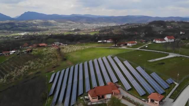 Solarni paneli u Čačku