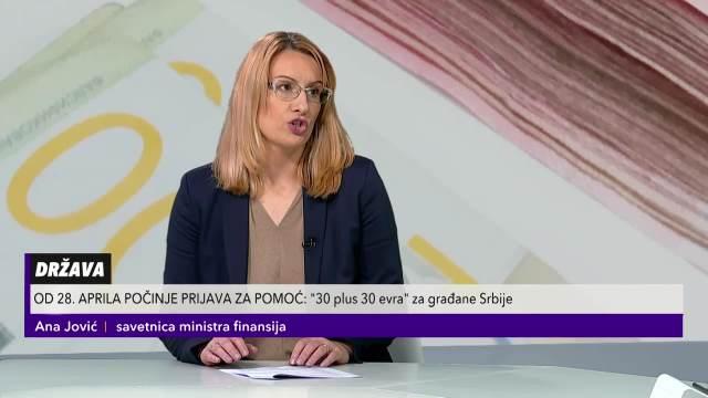 Savetnica ministra Ana Jović o svim detaljima vezanim za novčanu pomoć države