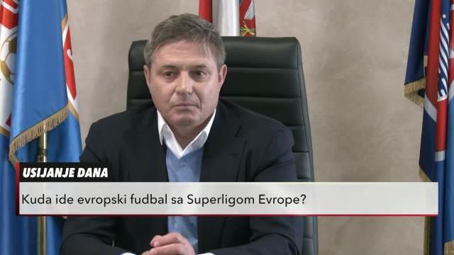 Dragan Stojković Piksi u Usijanju dana: Kuda ide evropski fudbal sa Superligom Evrope
