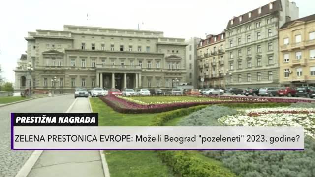 Beograd u trci za prestižnu nagradu Zelena prestonica Evrope