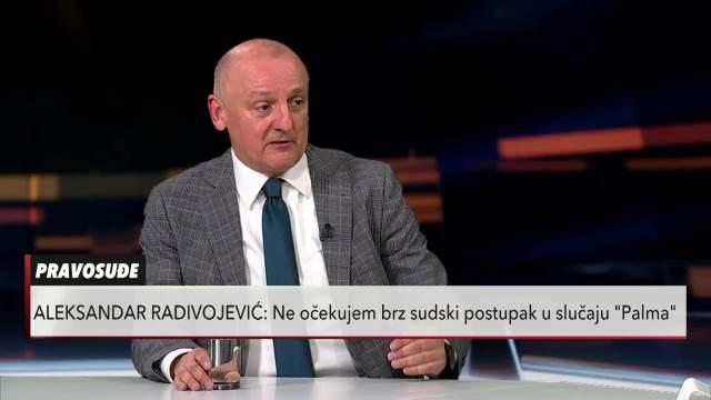 Aleksandar Radivojević o slučaju Palme: Najbolje je da se tužilaštvo izmesti van Jagodine