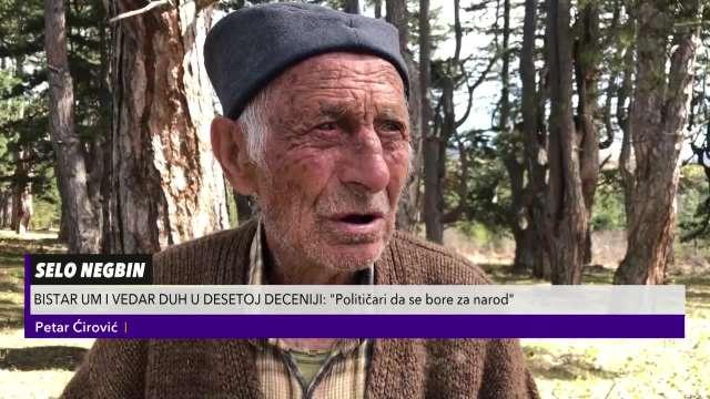 Deda Petar ima poruku za političare