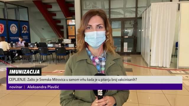 Sremska Mitrovica na korak od ostvarenja kolektivnog imuniteta