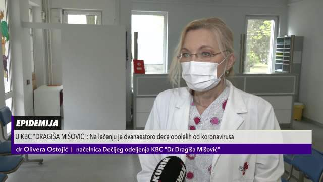 Upozorenje iz KBC Dragiša Mišović o lečenju beba od kovida19