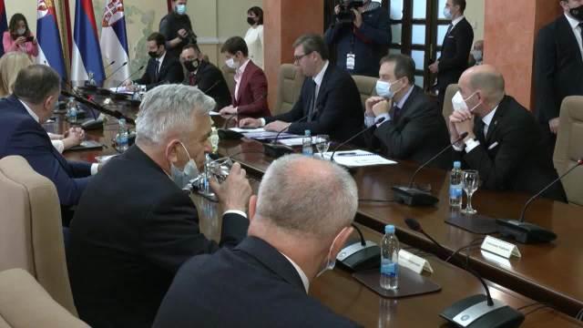 Delegacija Srbije na sastanku sa delegacijom Republike Srpske