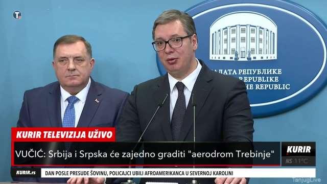 Vučić o investicijama u Republici Srpskoj