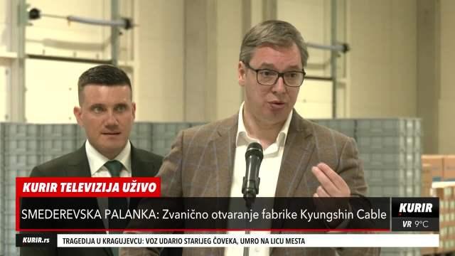 Vučić o slučaju Palma: Nadležni organi da rade svoj posao