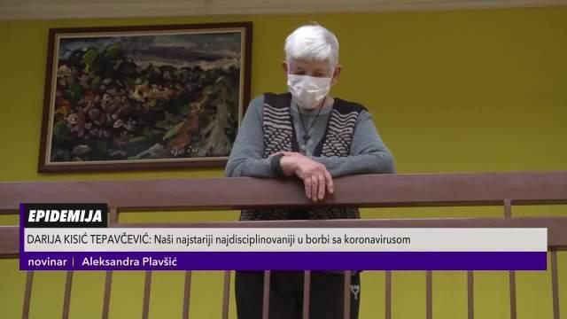 Ministri dodelili vitamine korosnicima gerontološkog centra u Rumi