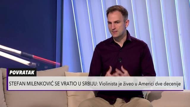 NAŠ NAJPOZNATIJI VIOLINISTA O SVOM POVRATKU U SRBIJU: Oduvek sam želeo da se vratim, hoću da moj sin raste uz baku i deku