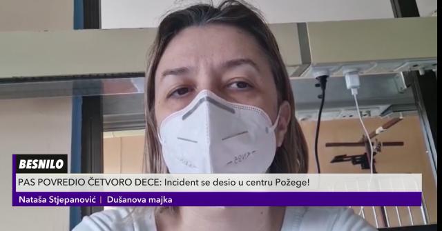 Majka iznela potresne detalje o ujedenom detetu u Požegi