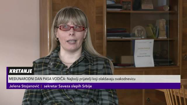 OBUKA PSA VODIČA PRESKUPA ZA ŽIVOTNE STANDARDE SLABOVIDIH I SLEPIH U SRBIJI: Njihova obuka košta čak 15.000 evra!