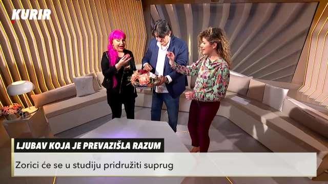 Zorica i Kemiš se kucali jajima u studiju Kurir televizije