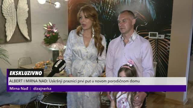 ALBERT I MIRNA OTVORILI VRATA LUKSUZNE VILE U ZEMUNU: Porodica Nađ GALA proslavila Vaskršnje praznike! Trpeza PAMET da STANE!