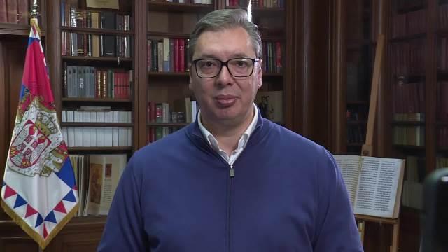 Aleksandar Vučić čestitka