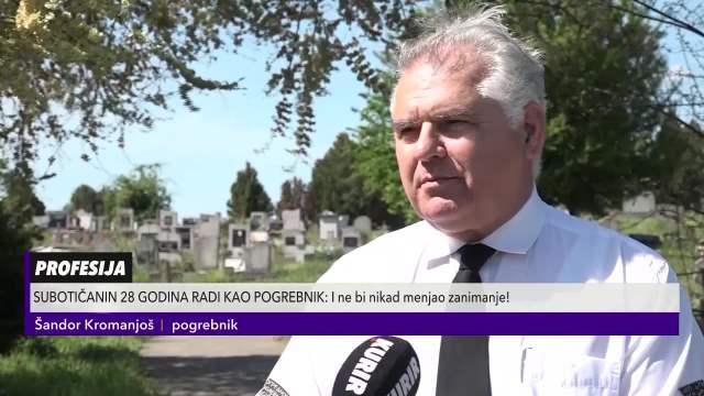Pogrebnik koji obožava svoj posao