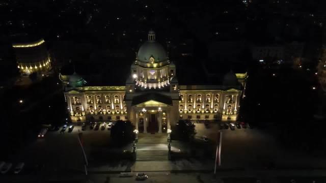 BEOGRAD U BOJAMA ZASTAVE EU: Evo kako je srpska prestonica obeležila Dan Evrope